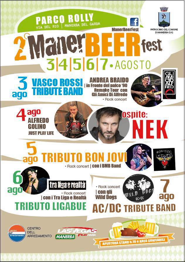 Manerbeerfest Festa della Birra a Manerba del Garda 2016